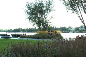 Sommar Rådhusparken Umeå