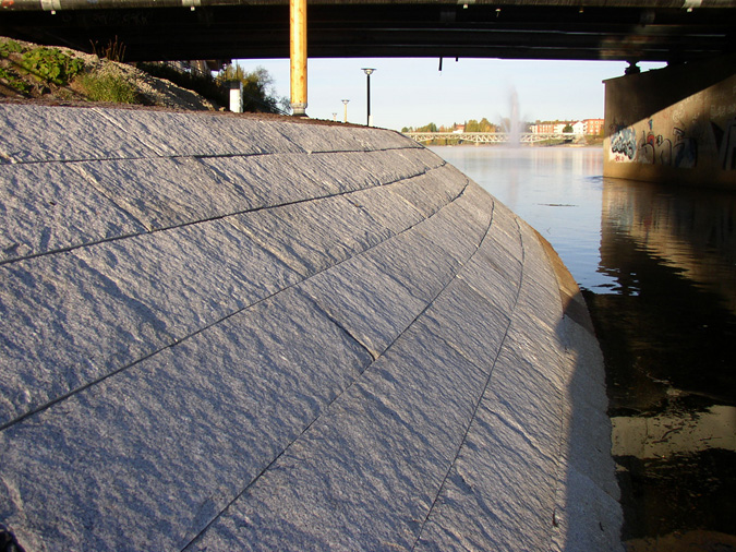 glacisen natursten granit Skellefteå