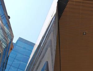 Natursten granit Fasad